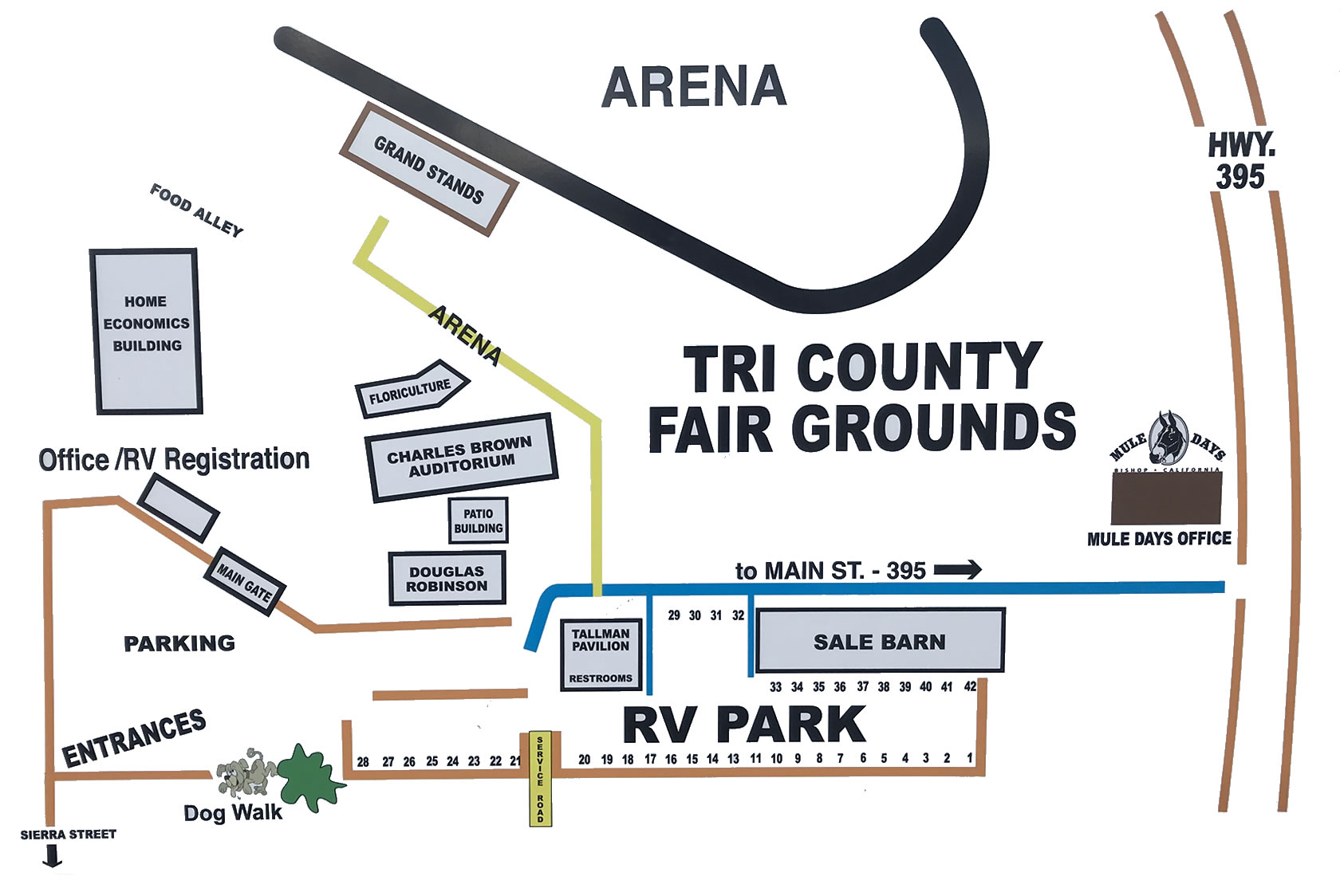 Tri County Fairgrounds Map