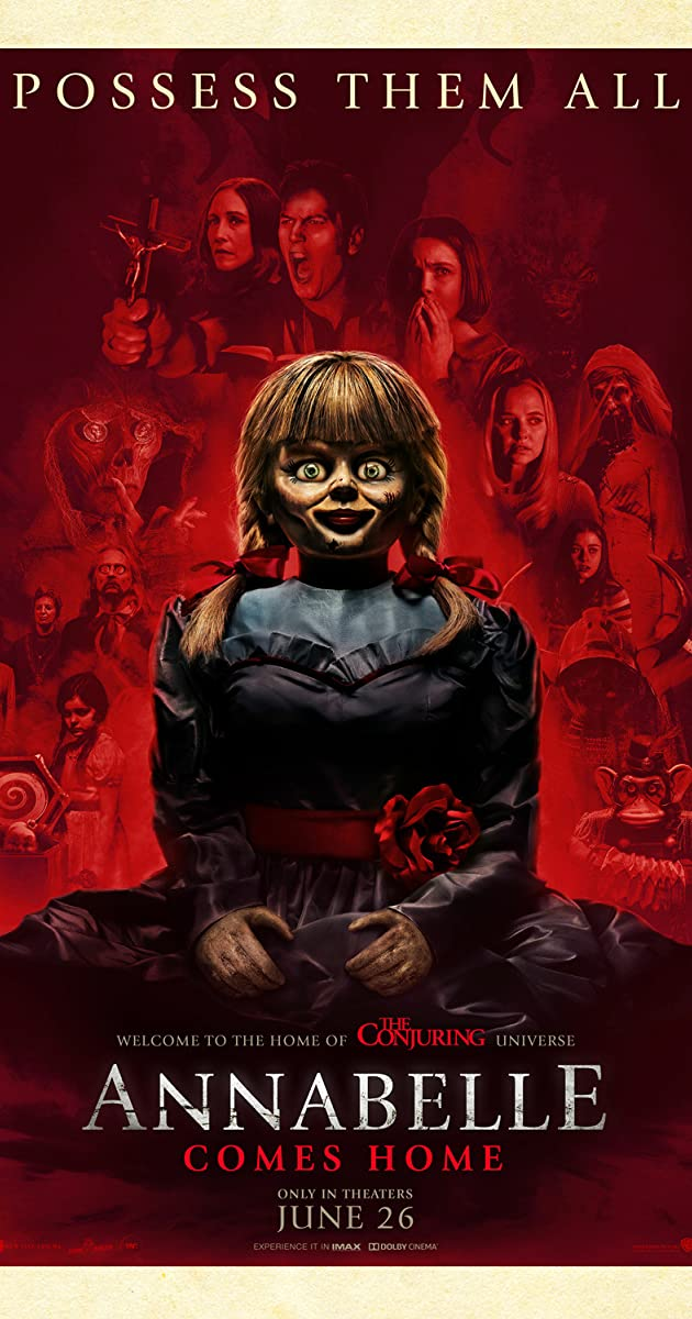 Annabelle Horror Movie Drive In
