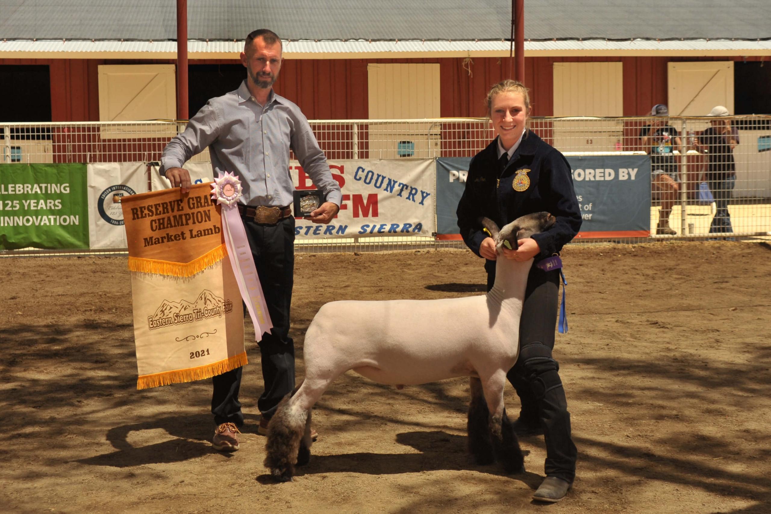 Josie Peek - Reserve Champ Lamb