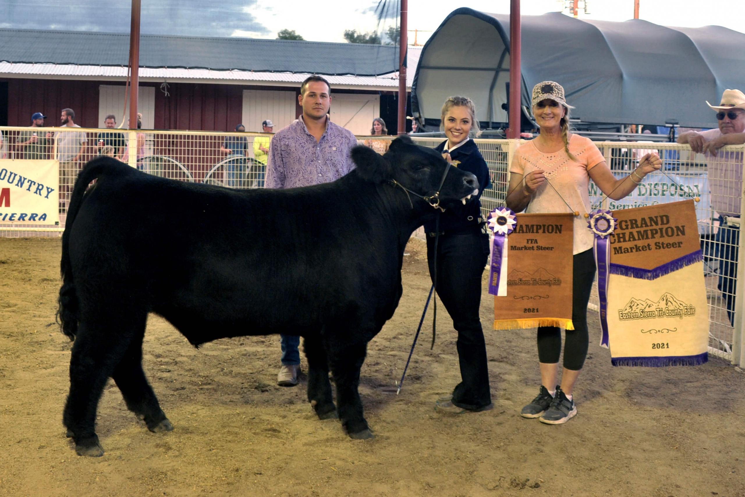 Juanita Joseph - Grand Champ Steer