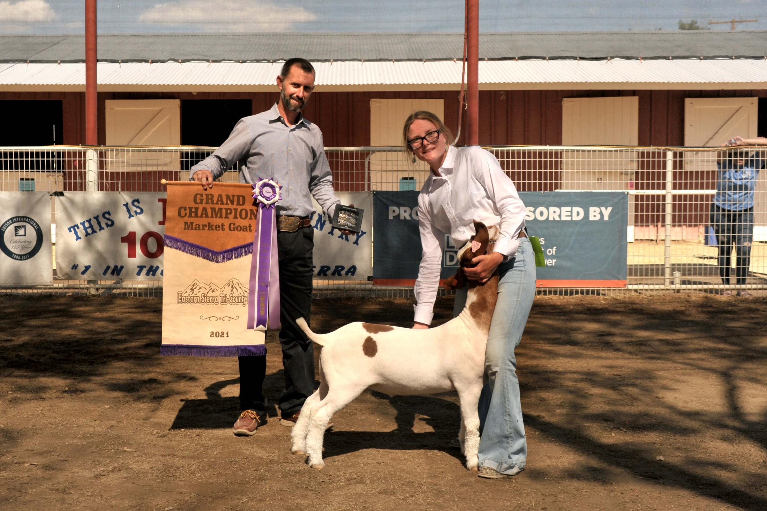 Kimberlin Alderman - Grand Champ Market Goat